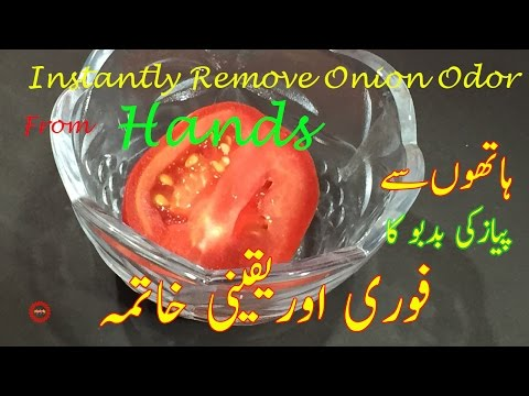 How to Get Rid of Onion Smell from Hands | Remove Onion Odor from Hands in an Instant |