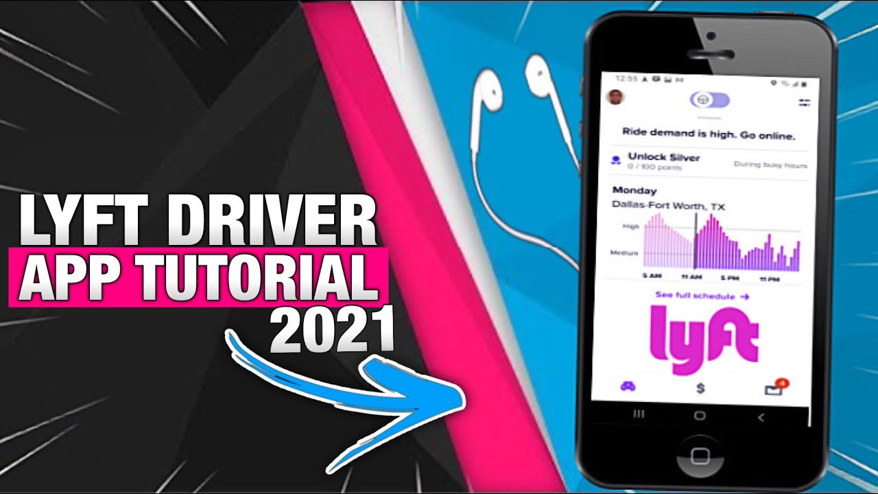 How To Use Lyft Driver App - 2021 Training & Tutorial