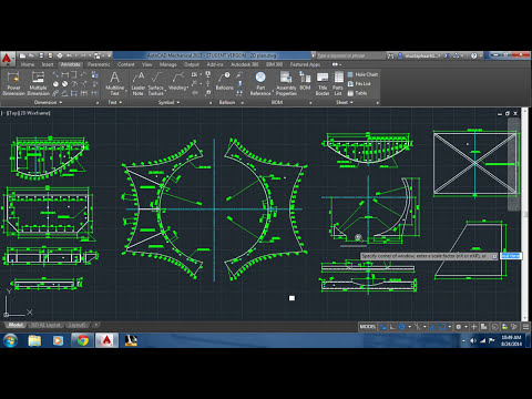 AutoCAD editing arrowhead type, Dimension text style and color