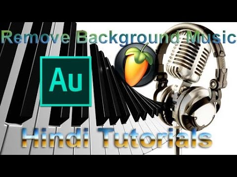 Remove Background Music From Any Song (Acapella)  in Hindi