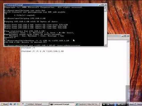 Remote ShutDown(Windows Hacking)