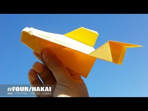 AMAZING PAPER AIRPLANE - How to make a Paper Airplane that Flies | Hakai X