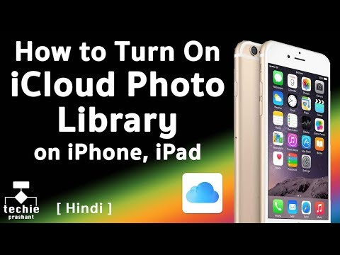 How to Turn On iCloud Photo Library on iPhone / iPad. HINDI