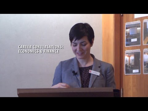 Career Conversations: Economics & Finance