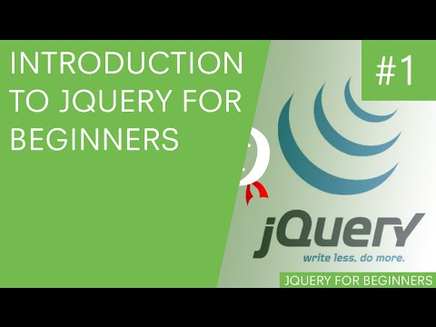 jQuery Tutorial for Beginners #1 - Introduction