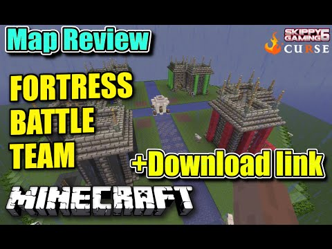 MINECRAFT - PS3 - FORTRESS BATTLE TEAM - MAP REVIEW + DOWNLOAD LINK ( PS4 )  SERVER UPDATE