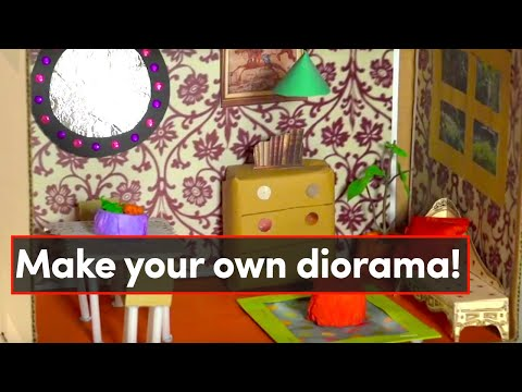 Room in a box - make your own diorama