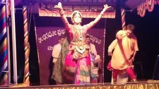 Tulu yakshagana Nagathambila by Sasihithlu Mela (tulunada siri devi thulaya)