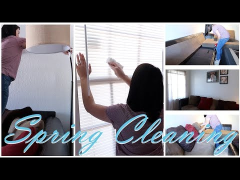 SPRING CLEANING 2018 | SPRING CLEAN WITH ME