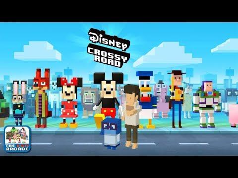 Disney Crossy Road - Sadness isn't sad when Brazilian Helicopter Pilot is around (iOS/iPad Gameplay)