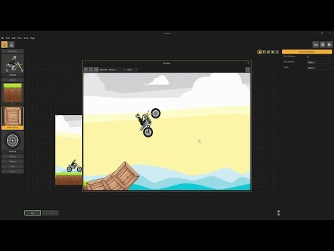 How to make a Motocross game in Buildbox? part-1
