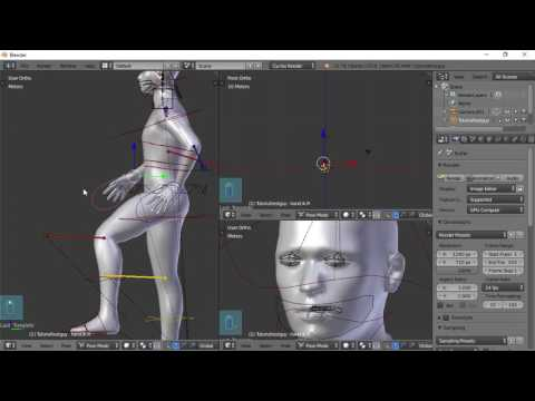 Blender For Noobs - Character Creation - Part 5