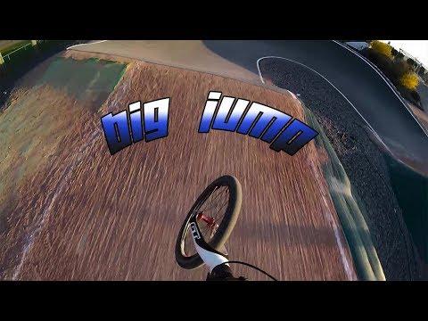 BMX Race // BIG jumps training lempdes -  2018