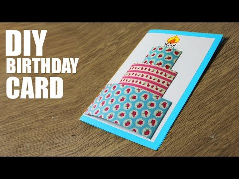 How to make Happy Birthday Cards -  Handmade Cards for Birthday