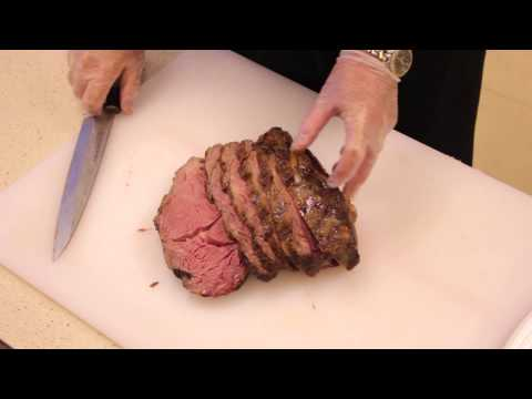 Carving a Rib Roast : Beef & Roasts