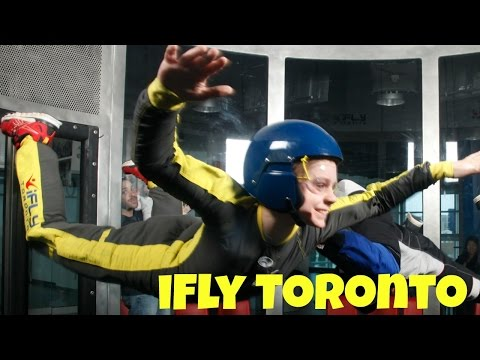 iFly INDOOR SKYDIVING in TORONTO