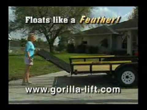 Trailer Tailgate Lift Assist by Gorilla Lift