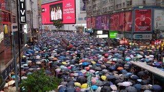 【直播回放】170萬港人反送中 和平理性非暴力同心同行