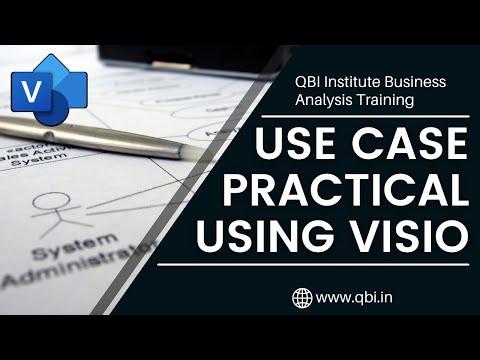 Use Case Diagram Practical through MS Visio