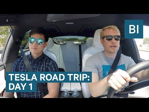 We already have to call Tesla for help on DAY 1 OF THE TESLA ROAD TRIP