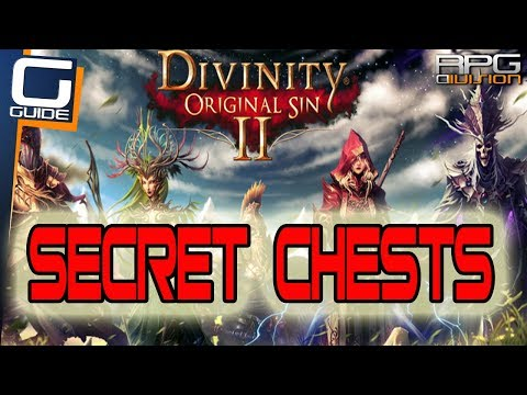 DIVINITY ORIGINAL SIN 2 - How to get Curious Chest, Ornate Chest Waterfall & Turtle Claw (Fort Joy)