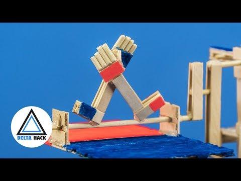 ARM WRESTLING BOARD GAME   DIY