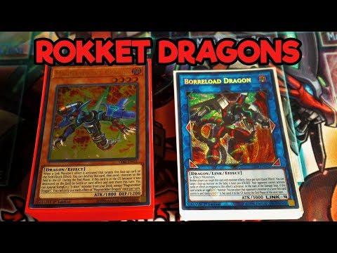 Rokket Dragons! May 2018! Yu-Gi-Oh Deck Profile!