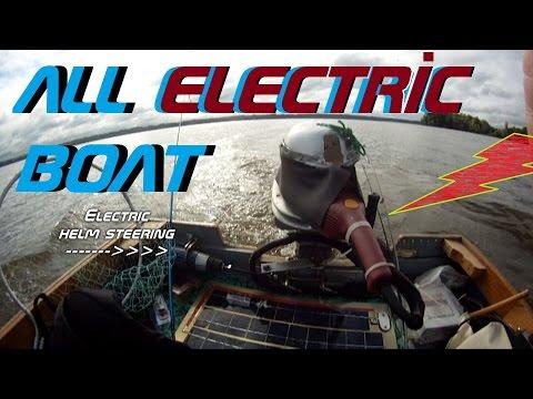 Worlds COOLEST 200 lb THRUST  Trolling Motor ~ 4.5 hp Homemade super power and bass fishing!