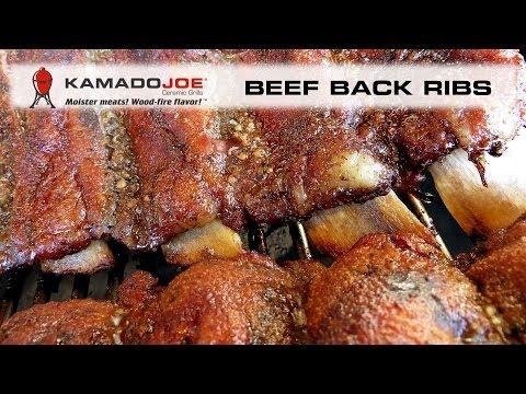 Kamado Joe Beef Back Ribs
