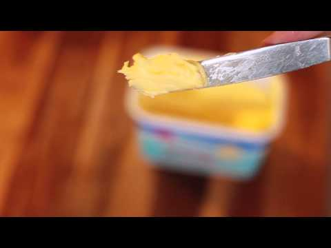 How to Spread Hard Butter on Soft Bread [Life Hack #1]