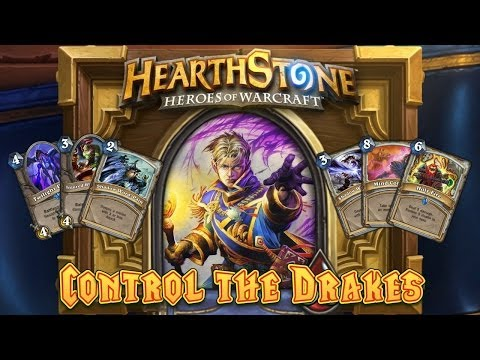 Hearthstone Deck Spotlight: Kripp's Control the Drakes
