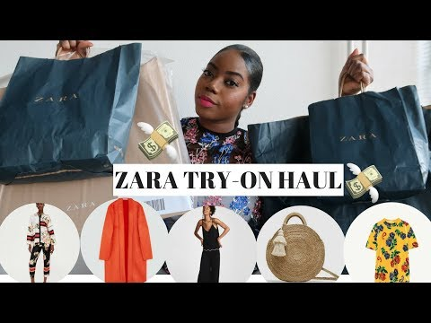 ZARA TRY ON HAUL ft  2018 SPRING COLLECTION CLOTHING