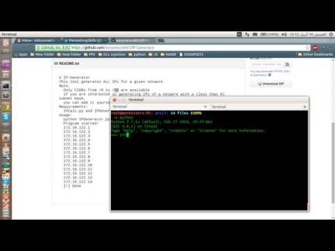 IPGenerator in Python - Completed! PART 03
