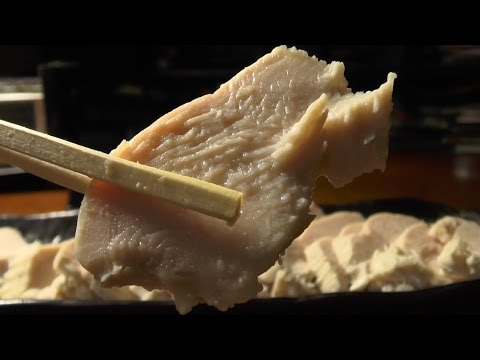 Very much with the taste boiled of the chicken breast meat  [excellent preservation food]