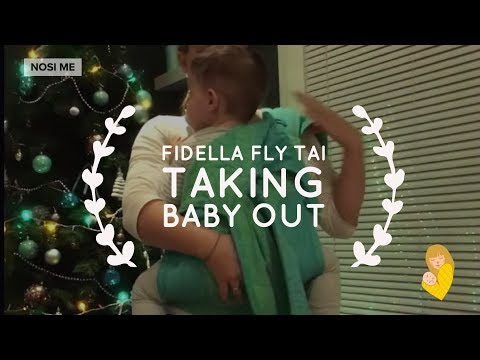 How to take baby out of mei tai carrier / Fidella FlyTai