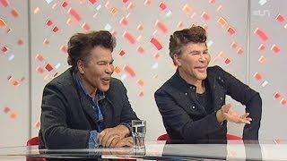 """""""Pourquoi vos visages ont changé à ce point?"""" Igor & Grichka Bogdanoff"""