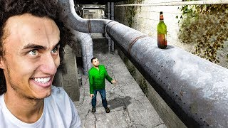 HE WAS HIDING ABOVE HIM! (GMOD Funny Moments)