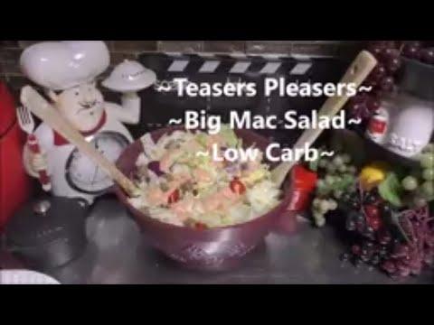 ~Big Mac Salad~        A Low Carb Salad Baby!!!