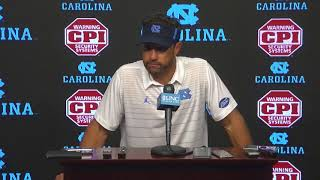 UNC Football: Larry Fedora Post Notre Dame Press Conference