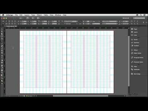 InDesign tutorial: Setting up your baseline grid | lynda.com