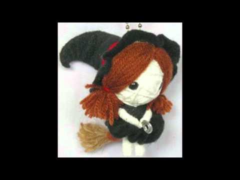 Dolly voodoo doll string doll keychain WWW.POKEITVOODOO.COM