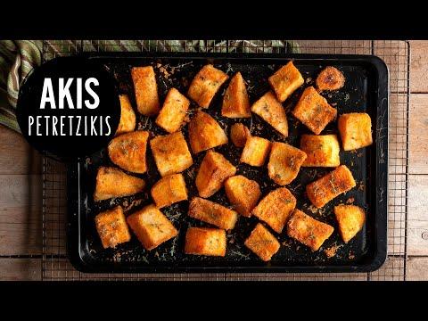 Crunchy Roasted Potatoes   Akis Kitchen