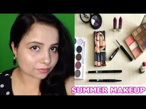 Summer SWEAT PROOF Makeup Tutorial | One Brand Makeup-Sugar Cosmetics