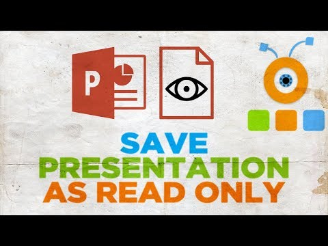 How to Save PowerPoint Presentation as Read Only