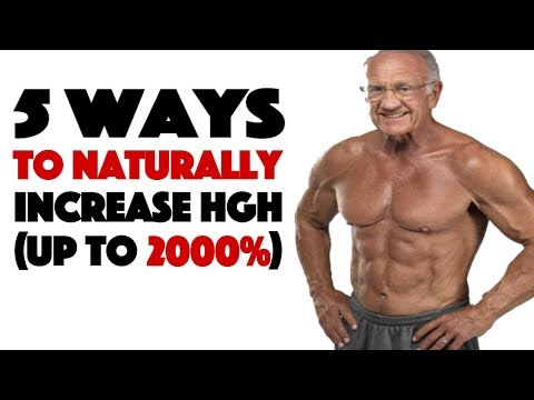 Human Growth Hormone - The True Fountain of Youth - 5 Ways to Increase it Naturally