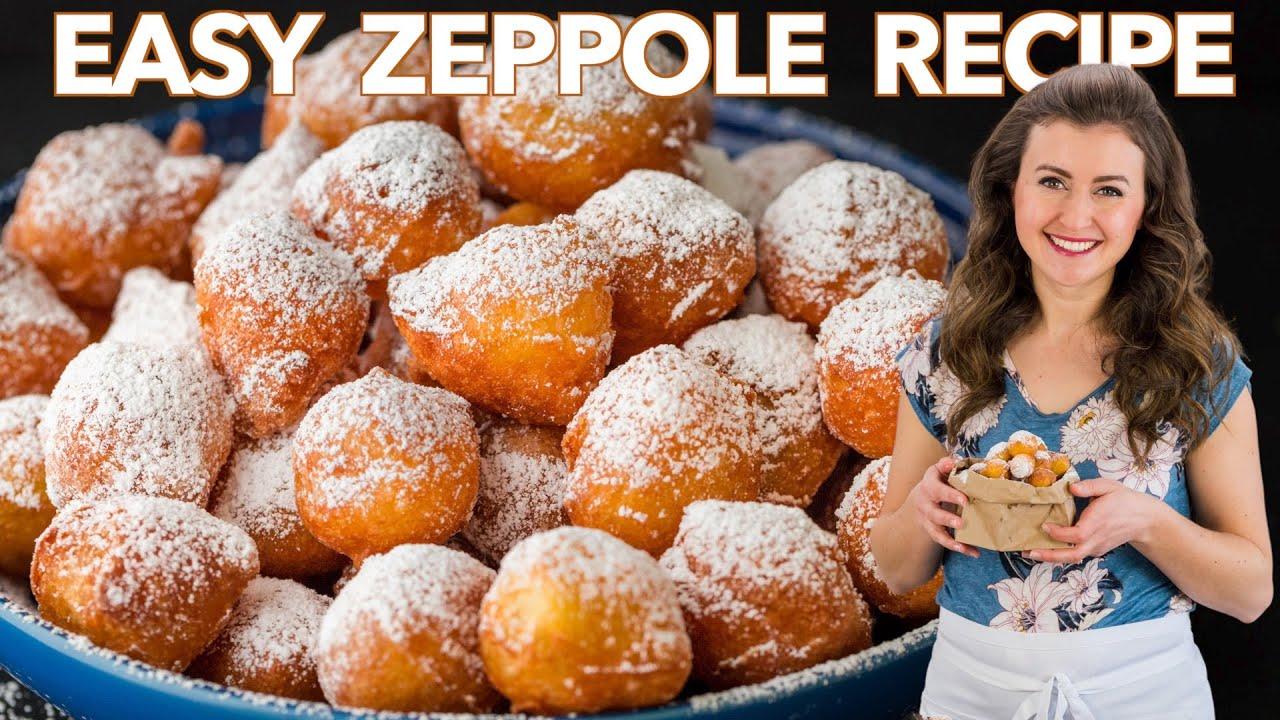 The Easiest Italian DONUTS? Yess!! -  Zeppole Recipe