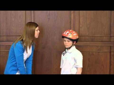 Helmets on Kids - How to Fit a Bicycle Helmet