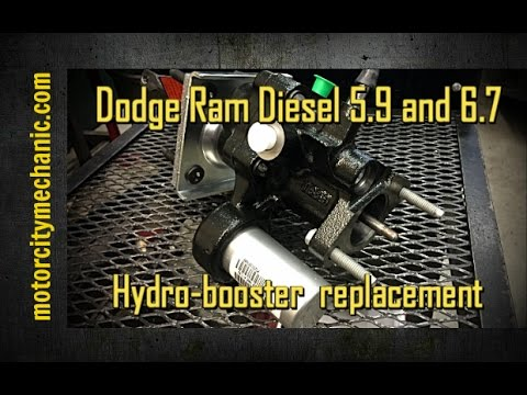 Dodge Ram Diesel 5.9 and 6.7 hydro-booster replacement