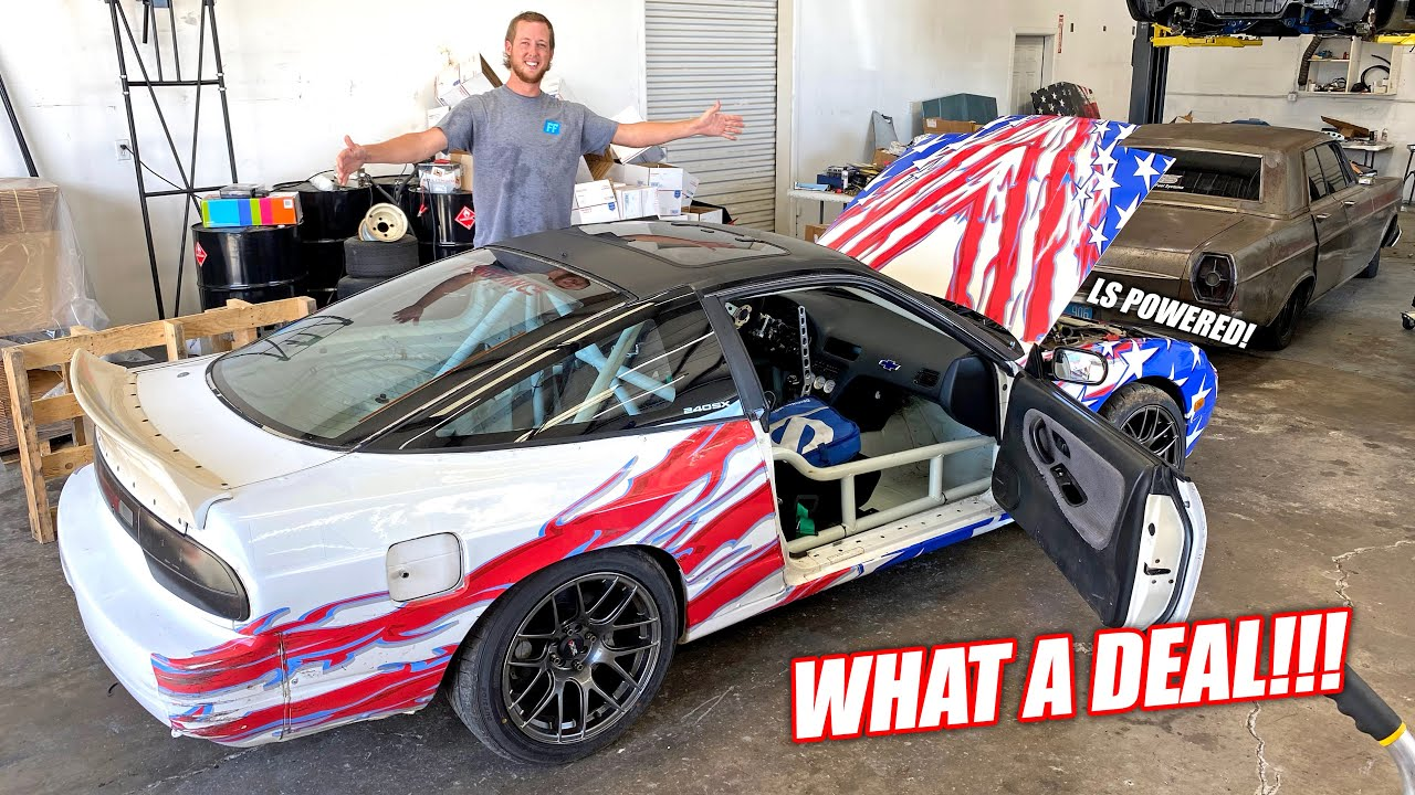 I Bought the CHEAPEST Pro Drift Car In the Country!!! (what a ripper)