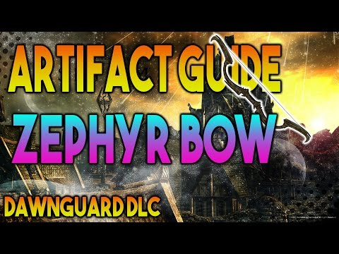 Skyrim Secret Artifact Guide  - Zephyr Bow Location/Guide - Lost to the Ages Quest (Special Edition)